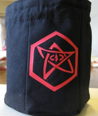Hexogonal dice bag